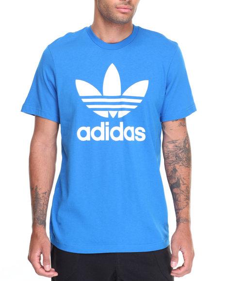 Adidas Men Originals Trefoil SS Tee Blue XLarge
