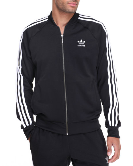 Adidas - Men Black Superstar Track Jacket