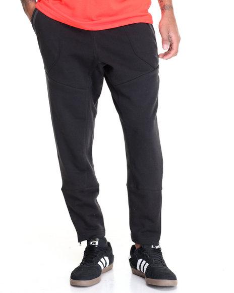 Adidas Men Sport Luxe Zip Pants Black Medium