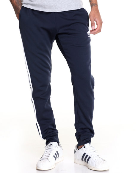 Adidas - Men Navy Superstar Track Pants
