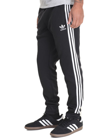 Adidas - Men Black Superstar Track Pants