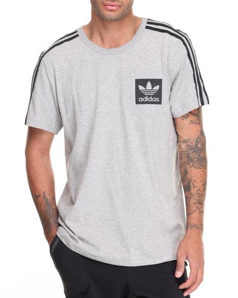 Adidas - Men Grey Street Essentials S/S Tee