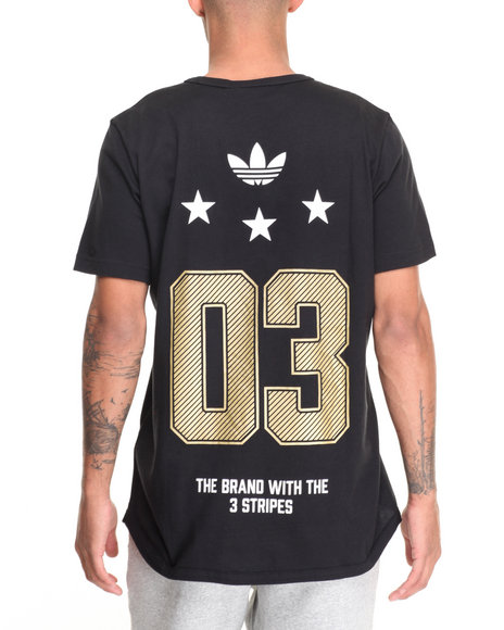 Adidas Men 03 Star SS Tee Black Small