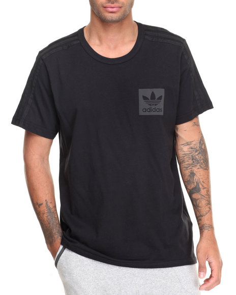 Adidas - Men Black Street Essentials S/S Tee