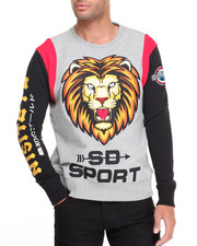 Men - Nisitetu Lions Crewneck Sweatshirt
