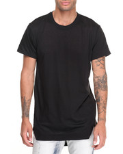 Buyers Picks - Elongated Geometric Hem Tee
