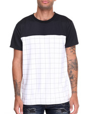 Buyers Picks - Mesh Color Block Tee w Pocket