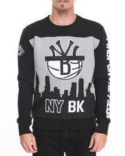 Men - N Y / B K Crewneck Sweatshirt