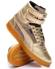 Women - Sky II Hi Metallic Sneakers