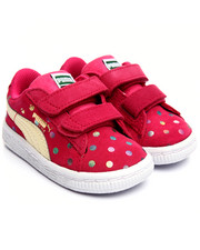 Girls - SUEDE DOTFETTI KIDS SNEAKERS (5-10)