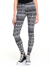 Fashion Lab - Printed Peached Legging