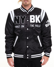 Men - N Y / B K Satin Jacket