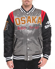 Men - Osaka Tigers Satin Jacket
