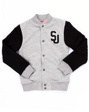 Outerwear - SJ VARSITY JACKET (8-20)