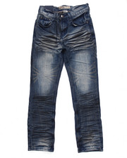 Bottoms - CRINKLE WASH PREMIUM JEANS (8-20)