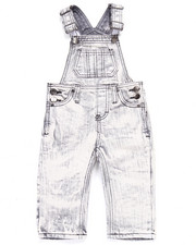 Arcade Styles - ACID WASH OVERALLS (INFANT)