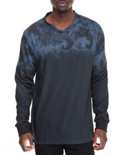Men - Floral Sublimated L/S Tee