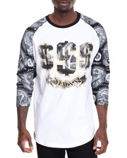 Buyers Picks - All Over Money Print Raglan Tee