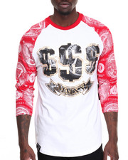 Buyers Picks - Money Print Raglan Tee