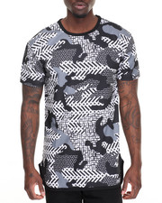 Buyers Picks - Geometric Camo Tee - BLK