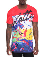Buyers Picks - Brush Stroke Long Tee