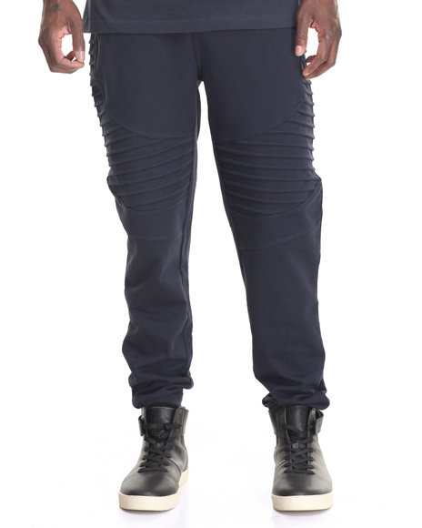 Buyers Picks - Men Navy Biker Jogger