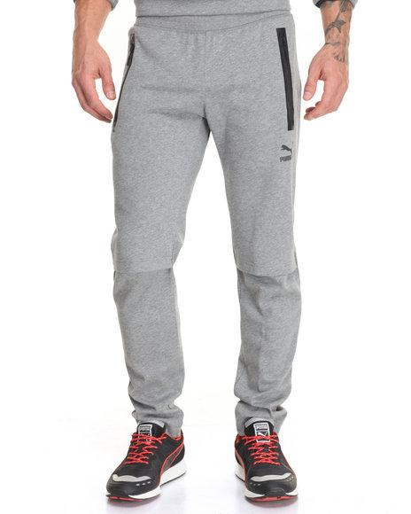 Puma - Men Grey Evo L V Sweatpants - $80.00