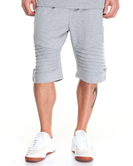 Buyers Picks - Men Light Grey Biker Short