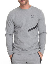 Men - Evo Zip Crewneck Sweatshirt