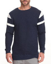 Men - Navy Epple Sport Crew Sweatshirt