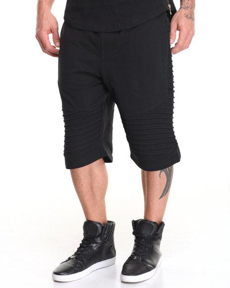 Buyers Picks - Men Black Biker Short