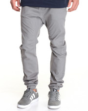 Buyers Picks - Twill Drop Crotch Jogger