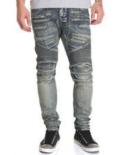 Jeans & Pants - Camaro Heavy Distress Denim Jeans