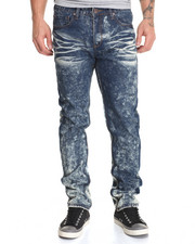 Waimea - Ripped & Repaired Cement Wash Jean