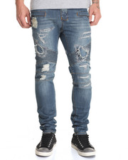 Men - Hypermotard Destructed Denim Jeans
