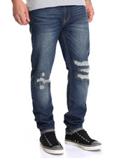 Waimea - Ripped & Repaired Industrial Wash Jean