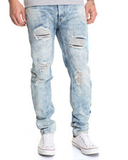 Waimea - Ripped & Repaired River Wash Jean