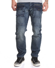 Straight - Vantage Tech Waxed Denim Jeans