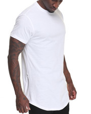 Buyers Picks - Long Length Tee w Side Zipper