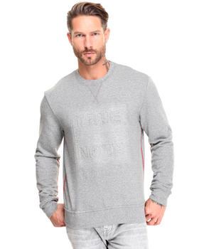 True Religion - Debossed Logo Crewneck Sweatshirt