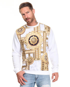 -FEATURES- - Rococo Sublimation Print Sweatshirt