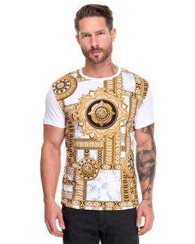 -FEATURES- - Rococo Print T-Shirt