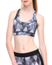 Tops - TECHFIT BOOST PRINT MOLDED CUP BRA
