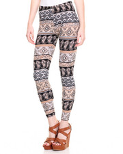 Fashion Lab - Printed Peached Leggings