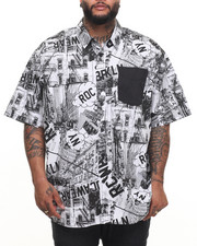 Rocawear - Cityscape S/S Button-down (B&T)