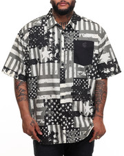 Rocawear - Roc USA S/S Button-down (B&T)