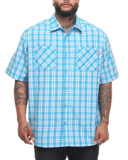 Button-downs - Riff Raff S/S Button-Down (B&T)