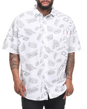 Ecko - All Logo S/S Button-Down (B&T)