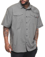 Ecko - Belize Poplin S/S Button-Down (B&T)