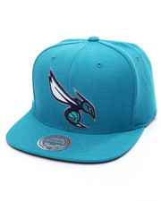 Mitchell & Ness - Charlotte Hornets Wool Solid Snapback Cap